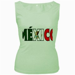 Mexico (n) Womens  Tank Top (Green)