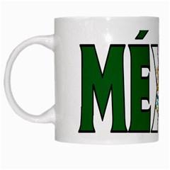 Mexico (n) White Coffee Mug