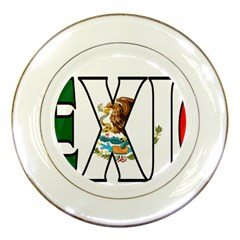 Mexico (n) Porcelain Display Plate