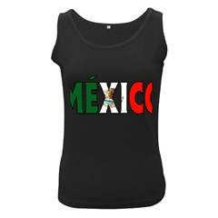 Mexico (n) Womens  Tank Top (Black)