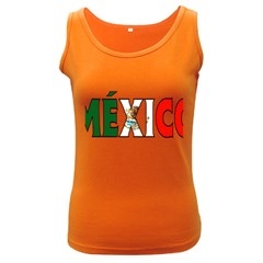 Mexico (n) Womens  Tank Top (Dark Colored)