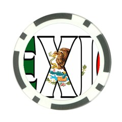 Mexico (n) Poker Chip 10 Pack