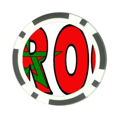 Morocco Poker Chip