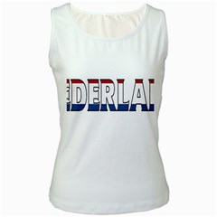 Netherlands Womens  Tank Top (White)