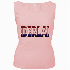 Netherlands Womens  Tank Top (pink)