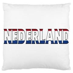 Netherlands Large Cushion Case (one Side)