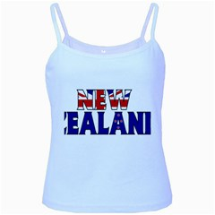 New Zealand Baby Blue Spaghetti Tank