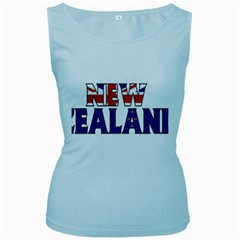 New Zealand Womens  Tank Top (baby Blue)