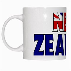New Zealand White Coffee Mug