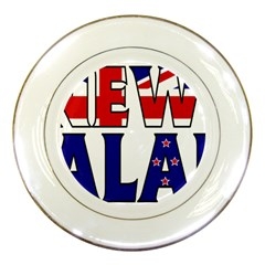 New Zealand Porcelain Display Plate
