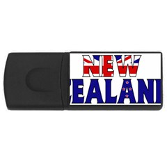 New Zealand 4GB USB Flash Drive (Rectangle)