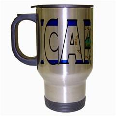 Nicaragua Travel Mug (silver Gray)