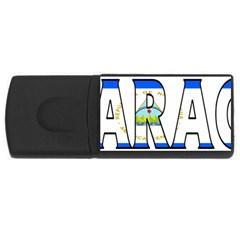 Nicaragua 4gb Usb Flash Drive (rectangle)
