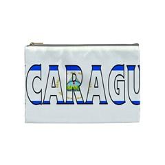 Nicaragua Cosmetic Bag (Medium)