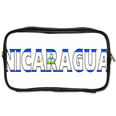 Nicaragua Travel Toiletry Bag (One Side)
