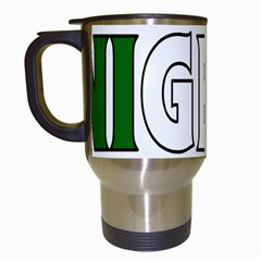 Nigeria Travel Mug (white)