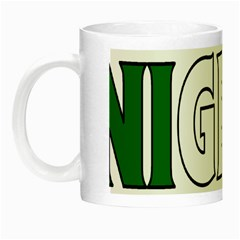 Nigeria Glow in the Dark Mug