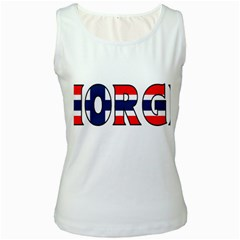Norway Womens  Tank Top (White)