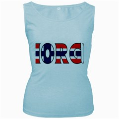 Norway Womens  Tank Top (Baby Blue)