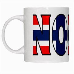 Norway White Coffee Mug