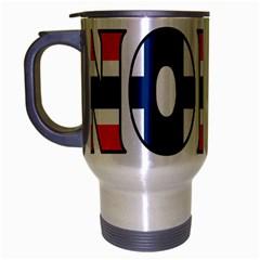 Norway Travel Mug (Silver Gray)