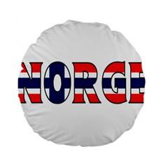 Norway 15  Premium Round Cushion