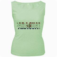 Paraguay Womens  Tank Top (green)