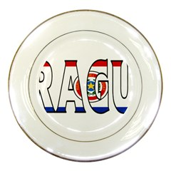 Paraguay Porcelain Display Plate