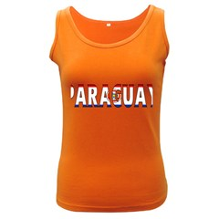 Paraguay Womens  Tank Top (dark Colored)