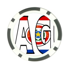 Paraguay Poker Chip 10 Pack