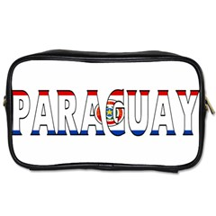 Paraguay Travel Toiletry Bag (one Side)
