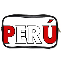 Peru Travel Toiletry Bag (One Side)