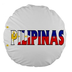 Phillipines2 18  Premium Round Cushion
