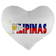 Phillipines2 19  Premium Heart Shape Cushion