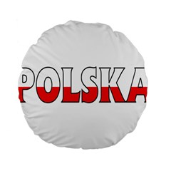 Poland2 15  Premium Round Cushion