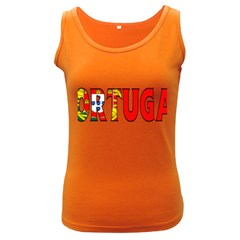 Portugal2 Womens  Tank Top (Dark Colored)