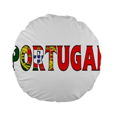 Portugal2 15  Premium Round Cushion