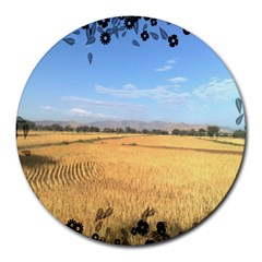 Nature 8  Mouse Pad (Round)