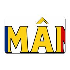 Romania Magnet (Rectangular)