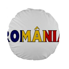 Romania 15  Premium Round Cushion