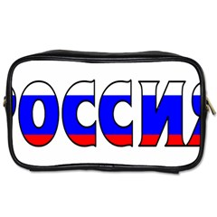 Russia Travel Toiletry Bag (one Side)