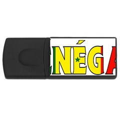 Senegal 4GB USB Flash Drive (Rectangle)