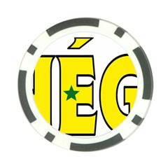 Senegal Poker Chip