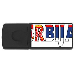 Serbia2 2GB USB Flash Drive (Rectangle)