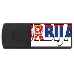 Serbia2 1GB USB Flash Drive (Rectangle)