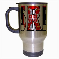 Serbia2 Travel Mug (silver Gray)