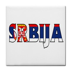 Serbia2 Face Towel