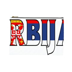 Serbia2 Cosmetic Bag (Large)