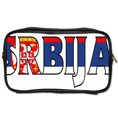 Serbia2 Travel Toiletry Bag (One Side)