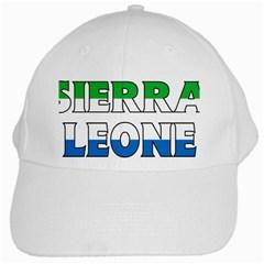 Sierra White Baseball Cap